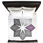 Demisexual Pride Starburst King Duvet