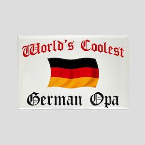 Coolest German Opa Rectangle Magnet