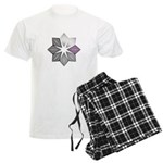 Demisexual Pride Starburst Men's Light Pajamas