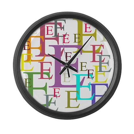 Epsilon Large Wall Clock
