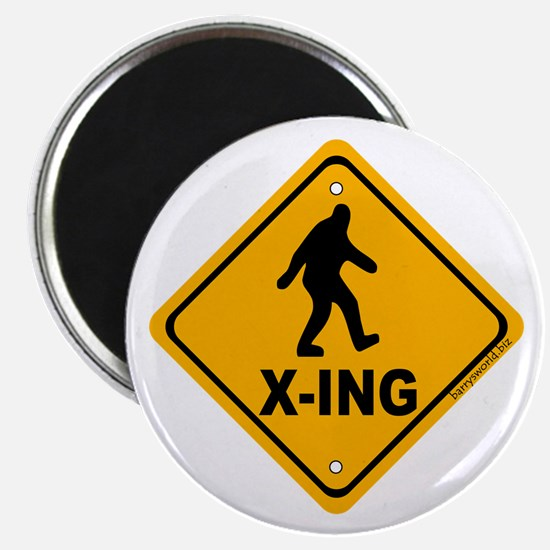 "Bigfoot Crossing 2.25"" Magnet (10 pack)"