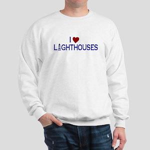 I Love Lighthouses (new) Sweatshirt