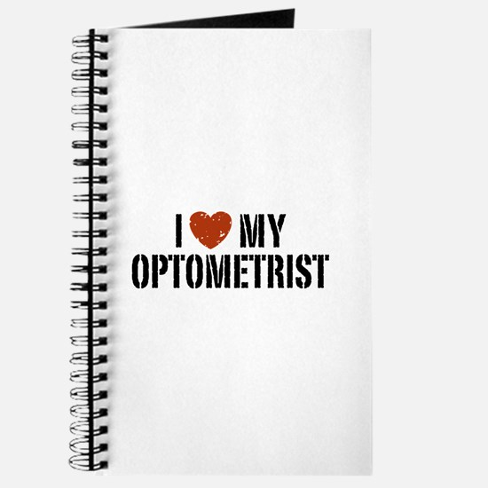 I Love My Optometrist Journal