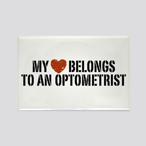 My Heart Belongs to an Optometrist Rectangle Magne