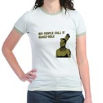 My people call it maize hole Jr. Ringer T-Shirt