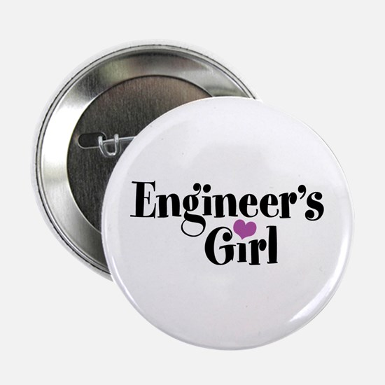 """Engineer's Girl 2.25"""" Button"""