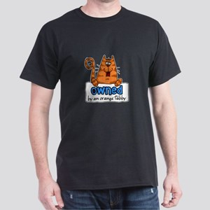 owned by an orange tabby Dark T-Shirt