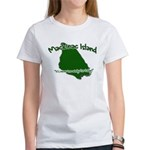 Mackinac Island - It's Never Women's T-Shirt