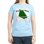 Mackinac Island - It's Never Women's Light T-Shirt