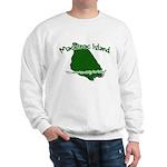 Mackinac Island - It's Never Sweatshirt