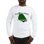 Mackinac Island - It's Never Long Sleeve T-Shirt