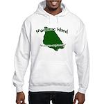 Mackinac Island - It's Never Hooded Sweatshirt