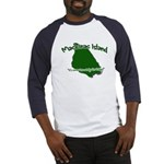 Mackinac Island - It's Never Baseball Jersey