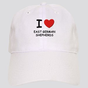 I love EAST GERMAN SHEPHERDS Cap