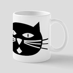 Mod Black Cat Mug