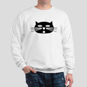 Mod Black Cat Sweatshirt