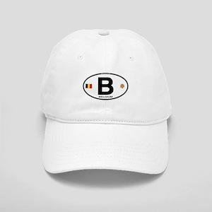 Belgium Euro Oval Cap