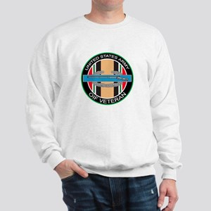 OIF Veteran with CIB Sweatshirt