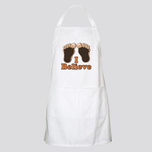 I Believe Bigfoot BBQ Apron