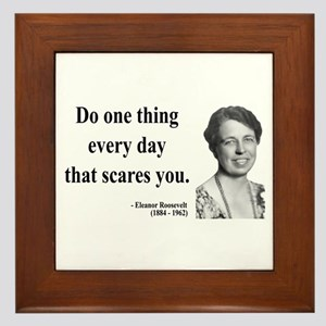 Eleanor Roosevelt 1 Framed Tile