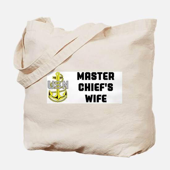 Funny Master chief Tote Bag