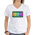 Vermont Women's V-Neck T-Shirt