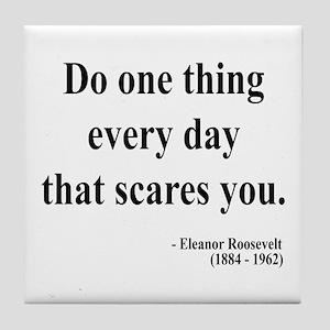 Eleanor Roosevelt 1 Tile Coaster
