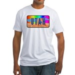 Utah Rainbow Fitted T-Shirt