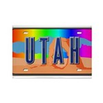 Utah Rainbow Rectangle Magnet