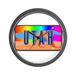 Utah Rainbow Wall Clock