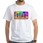 Utah Rainbow White T-Shirt