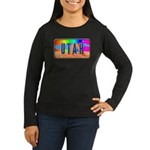 Utah Rainbow Women's Long Sleeve Dark T-Shirt