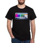 Texas Rainbow State Plate Dark T-Shirt