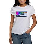 Texas Rainbow State Plate Women's T-Shirt