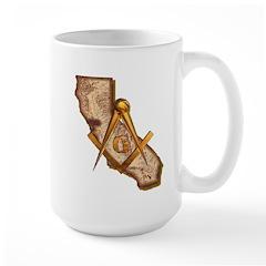 California Masonry Large Mug