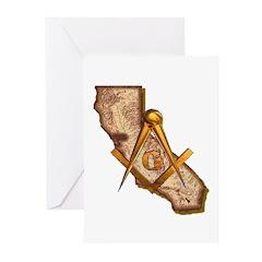 California Masonry Greeting Cards (Pk of 20)