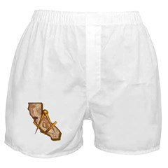 California Masonry Boxer Shorts