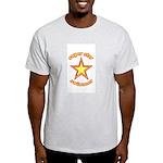 super star swimmer Ash Grey T-Shirt