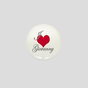 I love (heart) Giovanny Mini Button