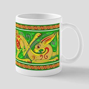 Celtic Rabbit Mug