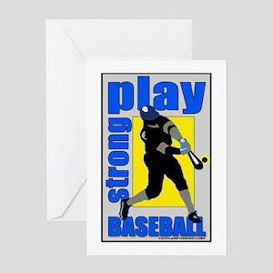 Baseball #1327 Greeting Card