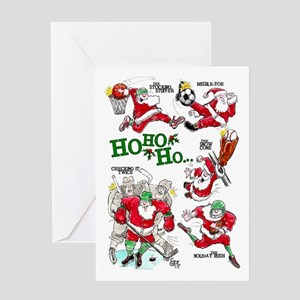 Sports Mojo Holiday Greeting Card