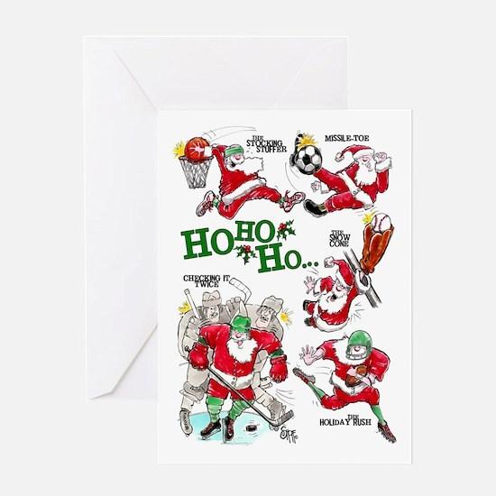 Sports Mojo Holiday Greeting Card