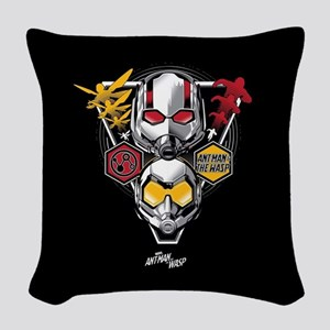 Ant-Man & The Wasp Triangle Woven Throw Pillow
