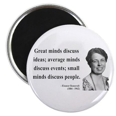 """Eleanor Roosevelt 5 2.25"""" Magnet (100 pack)"""