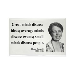 Eleanor Roosevelt 5 Rectangle Magnet