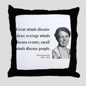 Eleanor Roosevelt 5 Throw Pillow