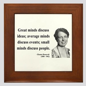 Eleanor Roosevelt 5 Framed Tile