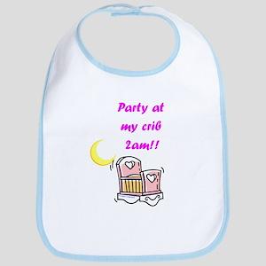 Party at the Crib (Girls) Bib