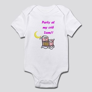 Party at the Crib (Girls) Infant Bodysuit